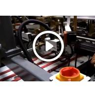 骏业包装厂自动贴角机