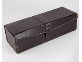 可折叠红酒皮盒