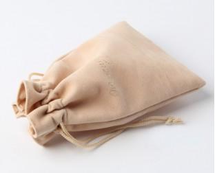 绒布束口袋