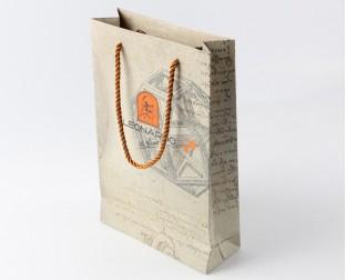 铜版纸礼品袋定做
