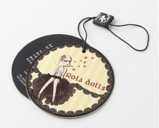 圆型服装吊牌