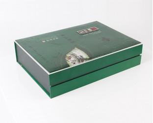 皮质茶叶盒