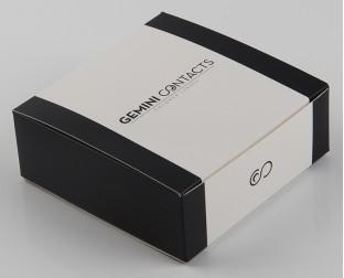 黑白包装纸盒