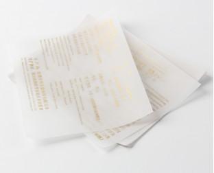 牛油纸定制