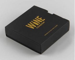 黑色烫金礼品盒
